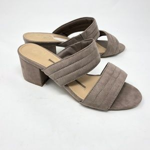 New Directions Abigail Double Bind Slide Sandals